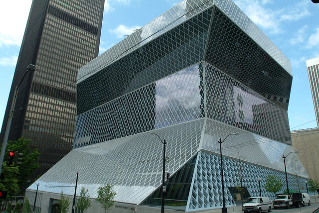 Seattle Public Library central branch, 2004