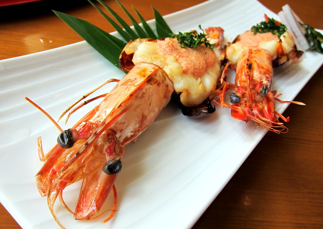 Grilled Ayutthaya Prawns with Cod Mayonnaise