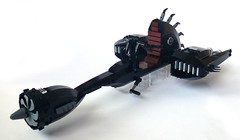 Starkiller's Speederbike (Oky - Space Ranger) Tags: bike star force lego galen wars clone marek speeder unleashed starkiller