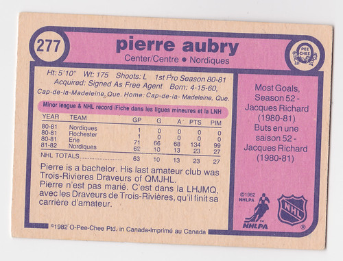 Coach - Pierre Aubry 82 Back