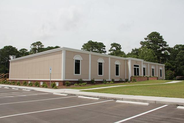holy cross church gets new permanent modular building