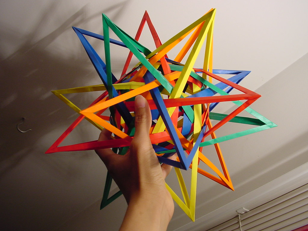 The World's Best Photos of origami and triacontahedron ... - photo#46