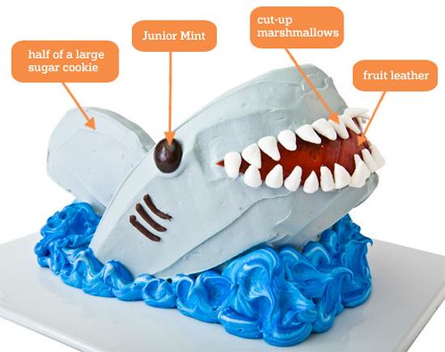 Shark Cake (Photo by Kenneth Chen for Parenting.com)