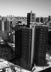 East Harlem from Mount Sinai Hospital East Building Laboratories (WithoutFins) Tags: nyc newyork lab harlem manhattan mountsinai