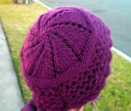Free Knitting Pattern Baby Cloche Hat : Greta Cloche-Style Hat Free Knitting Pattern from the Hats Free Knitting Patt...