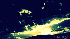Global Change  (yusuf_alioglu) Tags: world light shadow sky cloud sun sunlight mountain black color yellow clouds turkey dark photography photo fantastic flickr colours peace photographer shadows earth panasonic change series gree global globalwarming fantasticplanet darksky lightwaves scatteredclouds globalwarning tokat greensky fantasticsky darkmountain greensunlight planetworld abigfave globalchange globalwarner yusufyusuf85 picasa3 panasonicdmcls80 yusufaliolu yusufalioglu parttheclouds thesunslightwaves