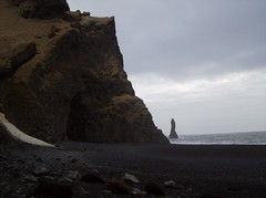 iss (smadventure) Tags: ocean mountain mountains blacksand iceland waves falls atlantic vik glacier waterfalls volcanic atlanticocean blacksandbeach