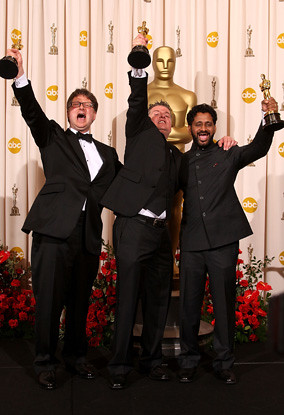 Oscars: Resul Pookutty, Ian Tapp and Richard Pryke
