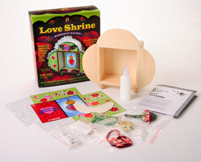 Crafty Chica™ Love Shrine™ Workshop in a Box™
