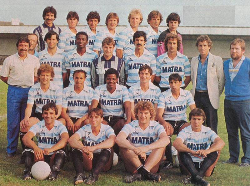 matra racing paris 1983-84