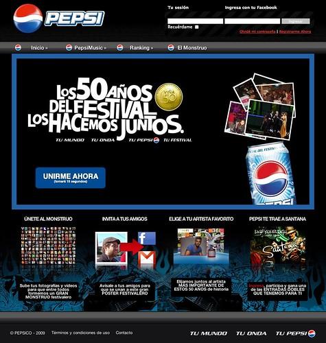Pepsi.cl - Tu mundo, tu onda, tu pepsi. (20090225)