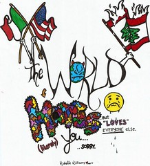 </3 (michellerosewilliams*) Tags: world italy lebanon sorry colors face america italian war colorful tears all sad time flag crying americanflag american hate demon devil and mean cry cries lebanese glares meaning literal sadface italianflag lebaneseflag worldhate worldhatesyou worlhatesme