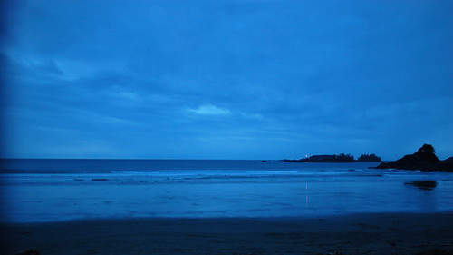Blue dusk at Cox Bay