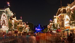 Disneyland - Main Street USA (Matt Pasant) Tags: california family vacation holiday kids canon personal disneyland anaheim waltdisneyworld dca dlr magickingdom californiaadventure waltdisney mainstreetusa sleepingbeautycastle 40d abigfave canonef1635mmf28liiusm canon40d