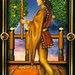 Gilded Tarot-權杖侍者(公主)
