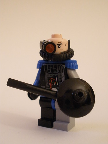 Capt. Avery Langley custom minifig