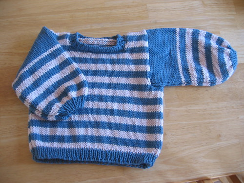 Striped Toddler Sweater