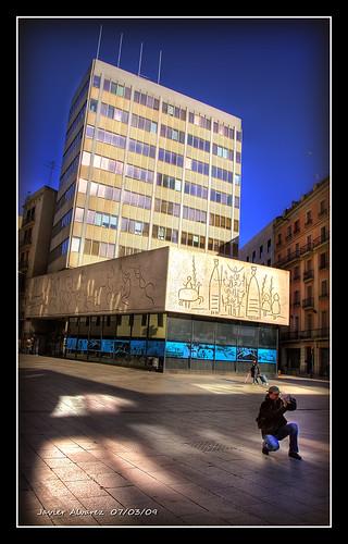 Plaça Nova - Plaza de la Catedral