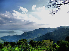 Tagaytay Ridge (jaraos) Tags: blue sky lake clouds landscape volcano view philippines tagaytay taal breathtaking luzon potofgold flickrestrellas beautyunnotice breathtakinggoldaward