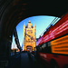 London bus on bridge - England Study Abroad