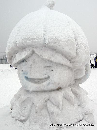A kawaii character
