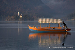 Gondola - Lake Bled - Bled - Slovenia ({ Planet Adventure }) Tags: wow photography bravo slovenia bled gondola thebest digitalphotography holidayphotos travelguide lakebled travelphotography digitalworld intrepidtraveler traveltheworld planetadventure colorfulworld worldexplorer amazingplanet intrepidtravel alessandrobehling topphotography holidayphotography spiritofphotography colorfulearth photographyhunter photographyisgreatfun