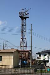 渡戸の火の見櫓(富士見市)