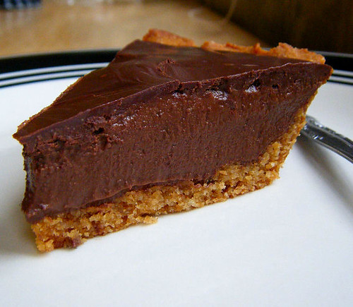 Chocolate Peanut Butter Pie (Dairy-Free)