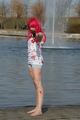 Lucy, Elfen Lied (cosplay shooter) Tags: lbm cosplay cosplayer manga anime leipzig buchmesse bookfair leipzigerbuchmesse lucy elfen lied elfenlied 35000z 40000z x201701