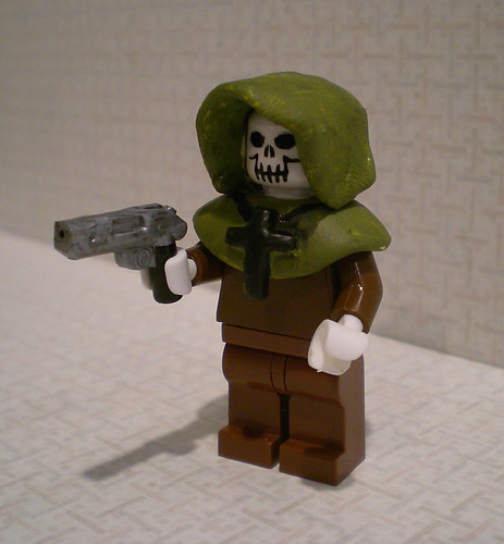 Timesplitters 2 - Undead Priest custom minifig