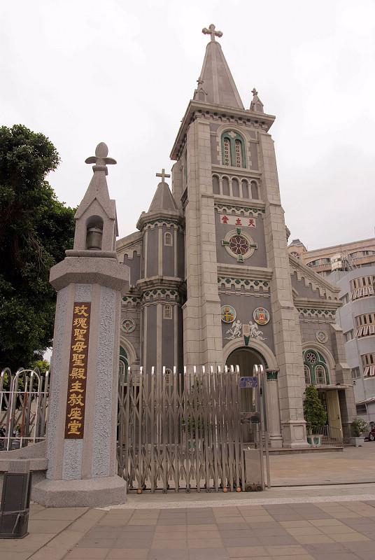 聖母堂大門口2