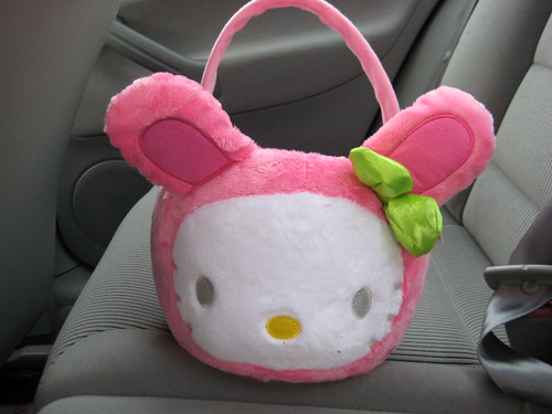 Hello Kitty Easter Basket. Hello Kitty Easter Basket
