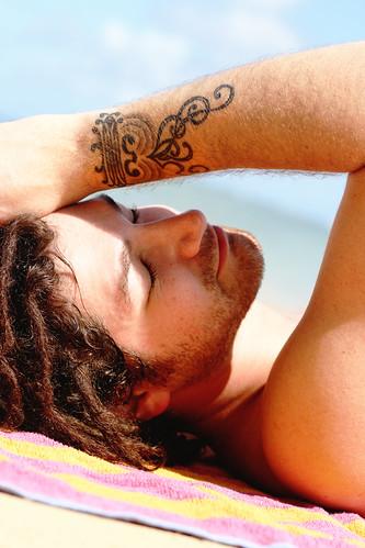 [フリー画像] 人物, 男性, 寝顔・寝ている, 201006130500
