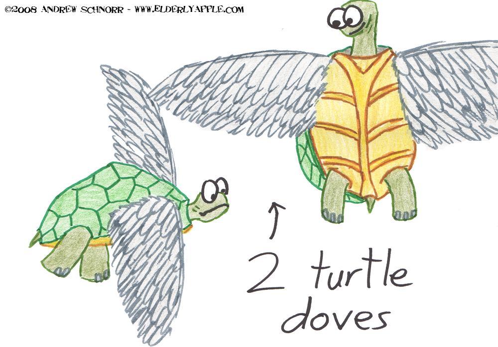 2 Turtle Doves