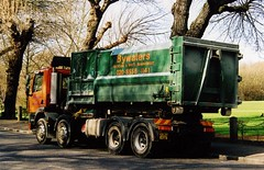 Bywaters 8x4 Foden Rolonof  March 2009 (sludgegulper) Tags: foden 8x4 rolonof container waste disposal management refuse recycling bywaters rollon x382ygu x382 ygu