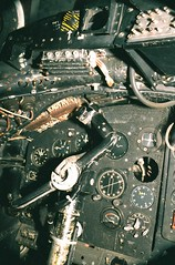 130. Canberra bomber instrument panel (J.C. Carter) Tags: museum aircraft transport lincolnshire canberra analogue bomber airfield scannednegative eastkirby