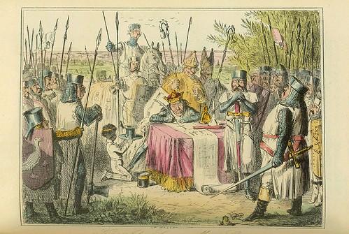002-El rey John firma la Carta Magna