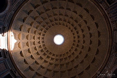 The Pantheon Dome (Sean Molin Photography) Tags: city vacation italy rome roma beautiful soldier march ancient europe italia european roman pantheon skylight dome epic gladiator mediteranian 14mm vacationeuropeitalyrome2009marchvacationitalli vacationeuropeitalyrome2009marchvacationitallian seanmolin wwwseanmolincom