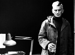Samuel Beckett (Chris Kutschera) Tags: irish paris france poet writer samuelbeckett ecrivain dramatist