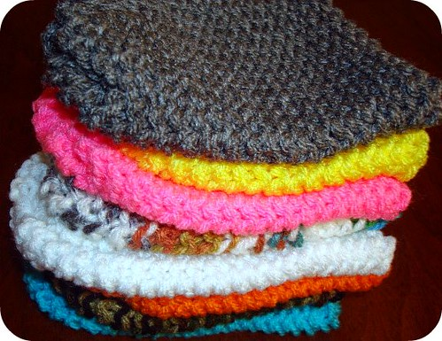 Multicolor Lots of Baby Infant Newborn Knit Hats Caps Great Baby Shower Gifts