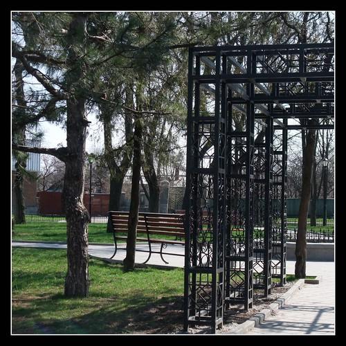 Taganrog. Chekhov square / ��������. ����� ��. ������