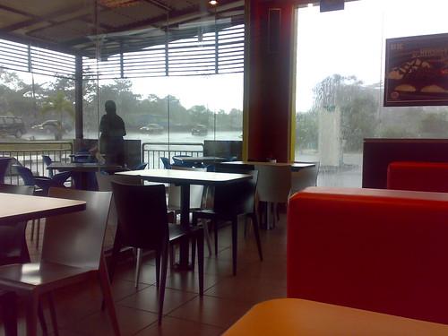 hujan lebat di JB