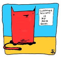 customer delight - yo & dude™ (eric Hews) Tags: copyright dog cats cute dogs television illustration cat puppy advertising fun corporate virginia puppies kitten funny eric artist comic employment drawing web yo humor cartoon emo creative culture kitty free funnies kittens philosophy pop richmond dude delight strip customer writer comicstrip mean illustrator haha satisfaction toon simple behavior society 2009 sarcasm unemployment freelance sarcastic psychology ambivalent hews yodude erichewscom yoanddude erichews yodude™ ©2009erichews ennuizle