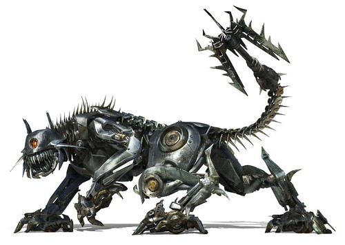 Ravage CGI Transformers 2