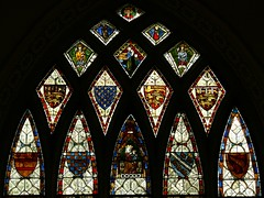 Stained glass - Stanford-on-Avon