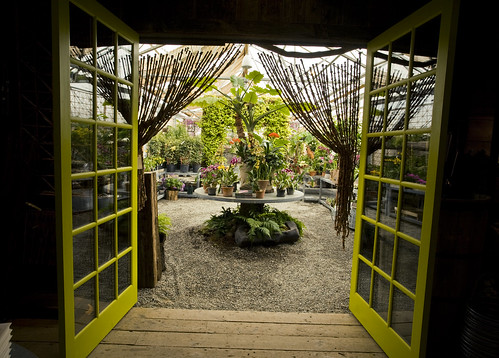 hothouse entrance