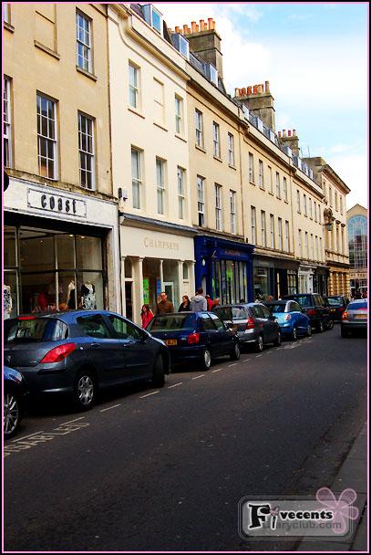 ชมเมือง Bath