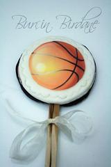 Basketbol Topu Kurabiye