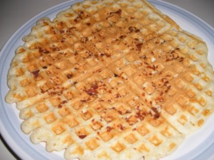 gale gand bacon waffle