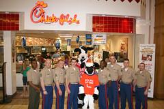Marines_in_Huntington (thlg2jr) Tags: usmc chickfilla